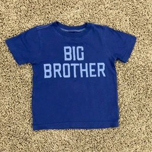 5/$25 Carter's big brother T-shirt size 3T